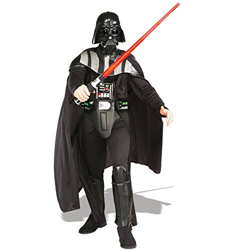 [Rubie's Costume Star Wars Darth Vader Deluxe Adult, Black, X-Large Costume] (Masquerade Costume Rental)