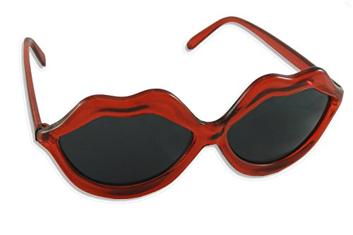 Sexy Red Lips Novelty Sunglasses