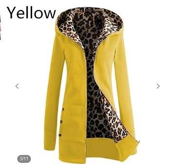 Oyfel Abrigo Oveja Chaqueta Parka Resolve Jacket Casaca China Chica Invierno Nieve Polar Otono Rebajas Leopardo L: Amazon.es: Hogar