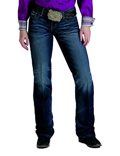 Cinch Western Denim Jeans Womens Ada Rlx 11 Short Dark Wash - Rlx Womens