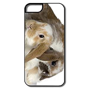 IPhone 5S Cases, Cute Rabbit White/black Cases For IPhone 5 5S