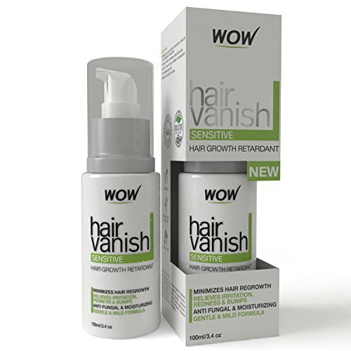 New-WOW-Hair-Vanish-for-Sensitive-Skin-100ml-34oz-Hair-Removal-For-Sensitive-Areas-Like-Bikini-Area