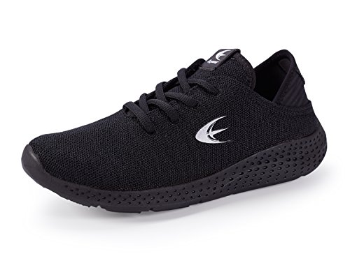 Lightweight Black Walking Womens Sneakers Absorbing Trainer Cross Running Sport Shoe Shock Ezywear Shoes Fashion Breathable X0B6W0Un