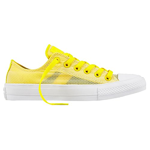 Converse Womens CT AS 2 Ox Sheen Yellow Mesh Yellow Mesh Trainers 37.5 EU