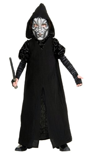 Death Eater Halloween Costumes - Harry Potter Deluxe Child's Death Eater Costume, Medium