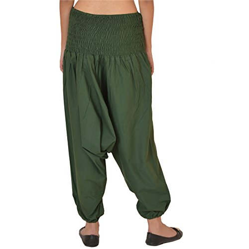 Green cotone in amp; yoga per donna Pantaloni viola Scarves colore Skirts da YxwAnPwp