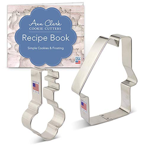 New Home/Real Estate Cookie Cutter Set - 2 piece - House & Key - Ann Clark - USA Made Steel