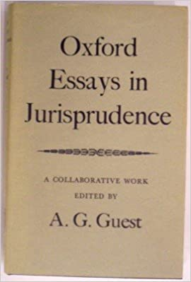 oxford essays in jurisprudence a collaborative work a g guest  oxford essays in jurisprudence a collaborative work a g guest 9780198251491 com books