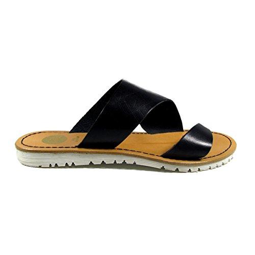 Noir cuir EPPO en 36 Femme Nu pieds Pieds GIOSEPPO GIOS Nu 41 USAGE au wqTgRnwO