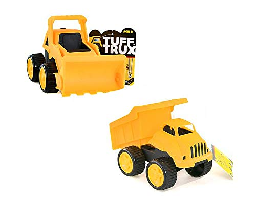 Tuff Trux [2-Pack Set Earth Movers Construction Vehicles 6