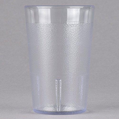 - Cambro 800P152 Colorware 7.8 oz. Clear Plastic Tumbler - 6/Pack