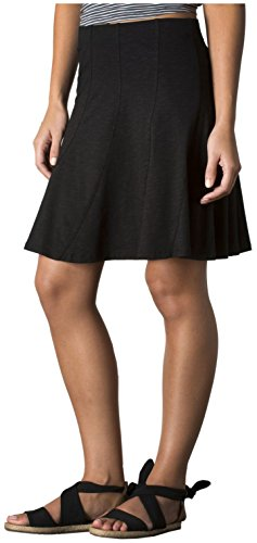 Toad&Co Women's Chachacha Skirt, Black XL (US 16)