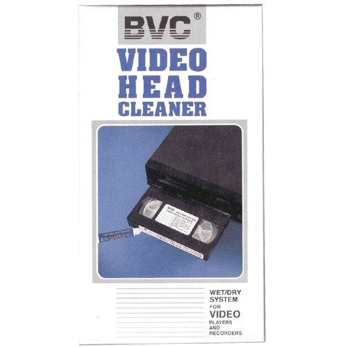 Cinta limpiadora video VHS - Wet/Dry System - BVC