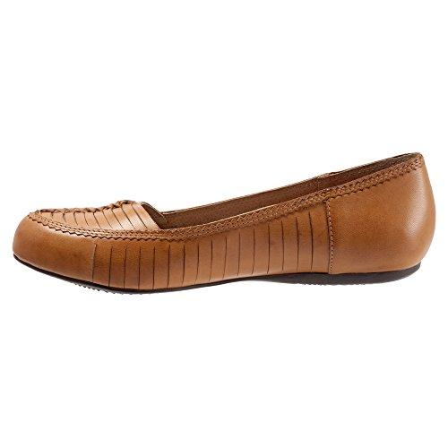 Softwalk Natchez Estrechos Piel Zapatos Planos