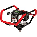 Earthquake 10310 Dually 1 or 2-Person Earth Auger Powerhead with 52cc 2-Cycle Viper Engine, 5 Year Warranty