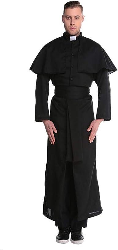 RMAMX Disfraz de Halloween Cos Jesucristo Jesucristo Misionero ...