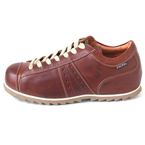 Snipe Marrón Zapatos Cordones Con cuero Hombre nrfgrW