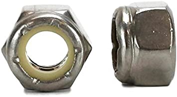 Inc 18-8 USS 3//8-16 Stainless Nylon Insert Lock Nuts Qty 50 Pieces Co 3//8-16