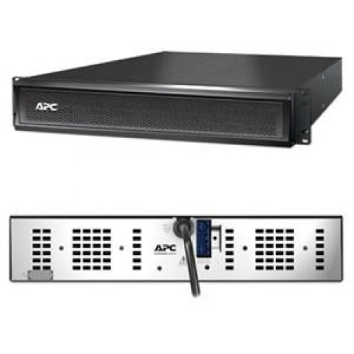 APC SMX48RMBP2U Smart-UPS X 48V External Battery Pack Rack/Tower - Battery enclosure ( rack-mountable ) - 2 x lead acid 864 mAh - 2U - black - for P/N: SMX1000I-DIG, SMX1500RMI2UNC-5XW, SMX750I-3XW, SMX750I-5XW, SMX750I-DIG