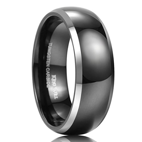 King Will Two Tone Tungsten Engagement