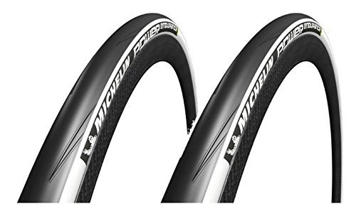 2本セット Michelin(ミシュラン) POWER endurance パワー エンデュランス クリンチャーロードタイヤ [並行輸入品] B01J0X3L8U 700×25c|ホワイト ホワイト 700×25c