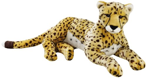 National Geographic Cheetah Plush - Large Size (Plush Cheetah)