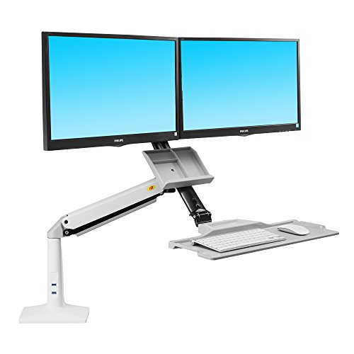 Monitor Accessories North Bayou Sit Stand Desk Height