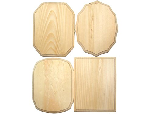 Demis Wood Plaques DEM500B 36Piece Bulk 9x12'' Arts And Crafts Supplies by Demis Wood Plaques