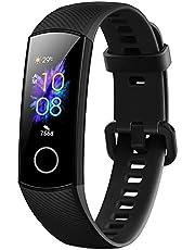 Honor Band 5 Vattentät Bluetooth-aktivitetsspårare med Pulsmätare, AMOLED-färgskärm, Pekskärm, Meteorite Black