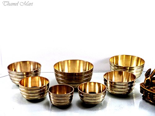 Set of 7 Chakra singing bowl- All in one- Handmade in Nepal, healing bowls