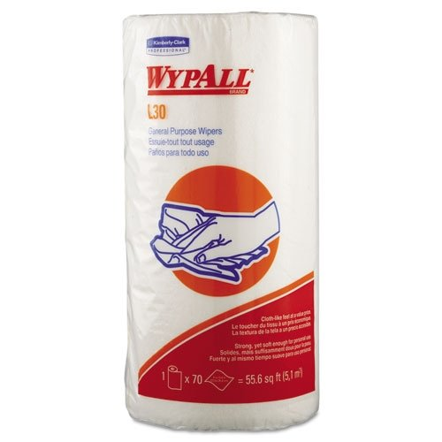 WYPALL L30 Wiper Small Roll, White [PRICE is per ROLL]