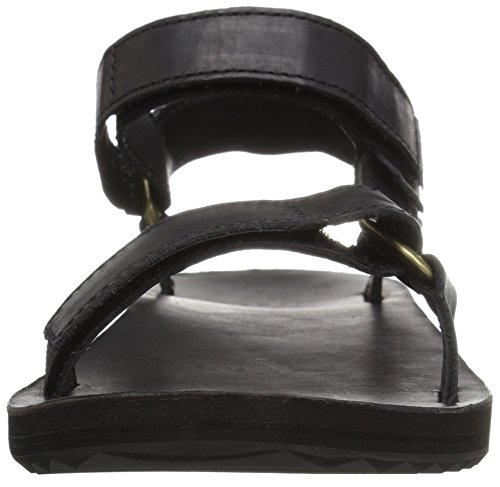 Original Sandal Sports Teva Crafted Leather Universal Outdoor Women's Blk Black Lifestyle and Black 5wnHzqRn