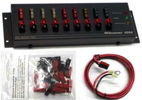 RR-4008-C RIGRUNNER 4008 DC POWER PANEL COMPLETE