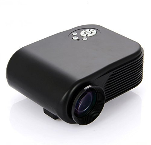 Emperor of Gadgets HD Multimedia Mini LED Projector for Laptop Computers, Game Machines, DVD Players (VGA, HDMI, AV-IN, USB) by Emperor of Gadgets