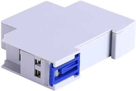 Interruptor de temporizador, AC 220-240V Escalera mecánica Relé electrónico Interruptor de tiempo Corredor Temporizador Aparato Accesorio Herramienta para el hogar: Amazon.es: Bricolaje y herramientas