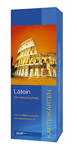 Grundwortschatz Latein, Karteikarten: Karteikarten Wortschatz