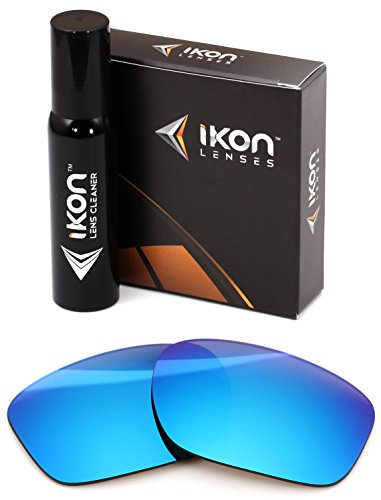 Polarized IKON Replacement Lenses For Oakley Sliver XL Sunglasses - Ice - Sunglasses Oakley Custom