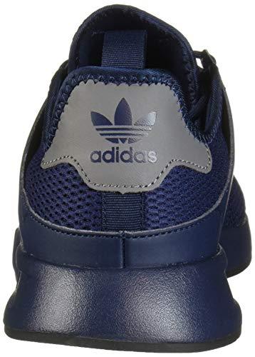 adidas Originals Men's X_PLR Running Shoe, Collegiate Navy/Collegiate Navy/Black, 4 M US