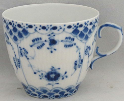 Royal Copenhagen Blue Fluted-Full Lace Flat Cup