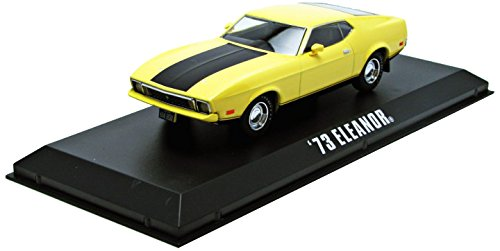 1/43 Gone in Sixty Seconds 1974 - 1973 Ford Mustang Mach 1 `Eleanor`(ライトイエロー) 「バニシング in 60/HOLLYWOOD SERIES1」 86412