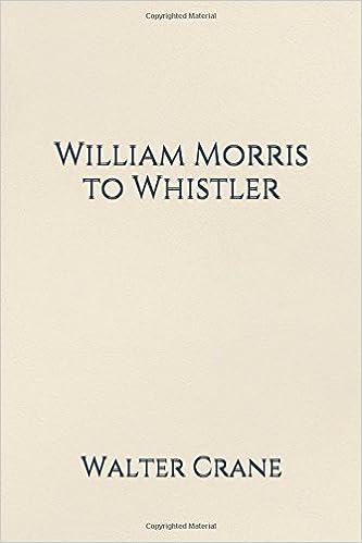 William Morris to Whistler