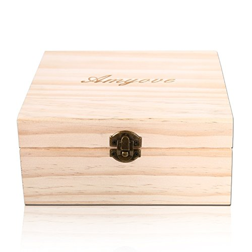 Amazon.com: Zehui – Creative 25 Entramado caja de aceite de ...