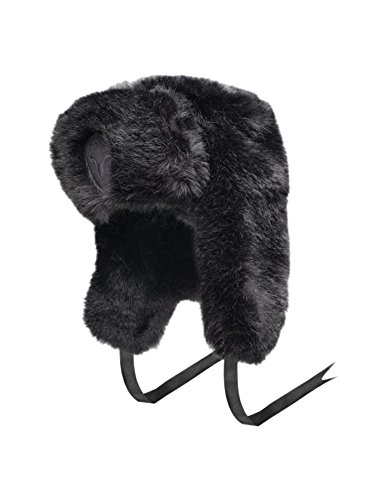 Fur Sugar (Authentic Nobis Sugar Lips Russian Fur HAT (Black))