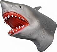 Yolococa Hand Puppet Toys Realistic Latex Animal Shark Instagram Children Toys