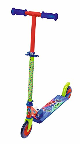 Smoby 7600750347PJ Masks Roller Wheel with Brake (Best Scooter For 5 Year Old Uk)