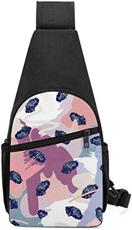 ボディ肩掛け 斜め掛け 絵画 ショルダーバッグ ワンショルダーバッグ メンズ 軽量 大容量 多機能レジャーバックパック