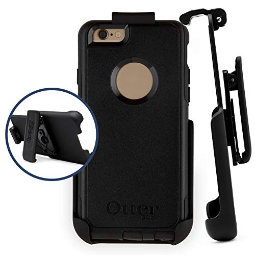 Belt Clip Holster Compatible with Otterbox Commuter Case | Easy Fit | Slim Design | Built in Kickstand [case not Included] - iPhone 6/6s
