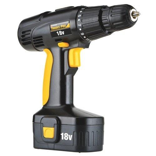 Tradespro Trades Pro 837590 18 Volt Cordless Drill Kit by Tradespro