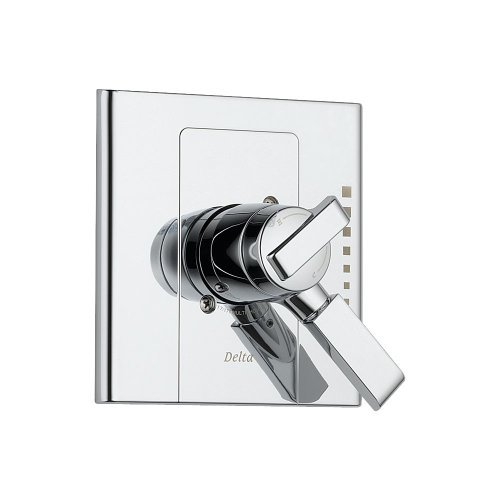 Delta T17086 Arzo Monitor 17 Series Valve Trim Only, Chrome by DELTA FAUCET