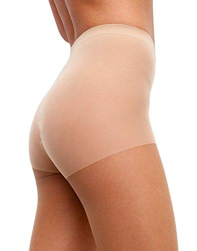 Sheer Tights 20Den Womens Semi Opaque Top Matte Nylon Pantyhose Hosiery (Womens Nude Opaque Pantyhose)